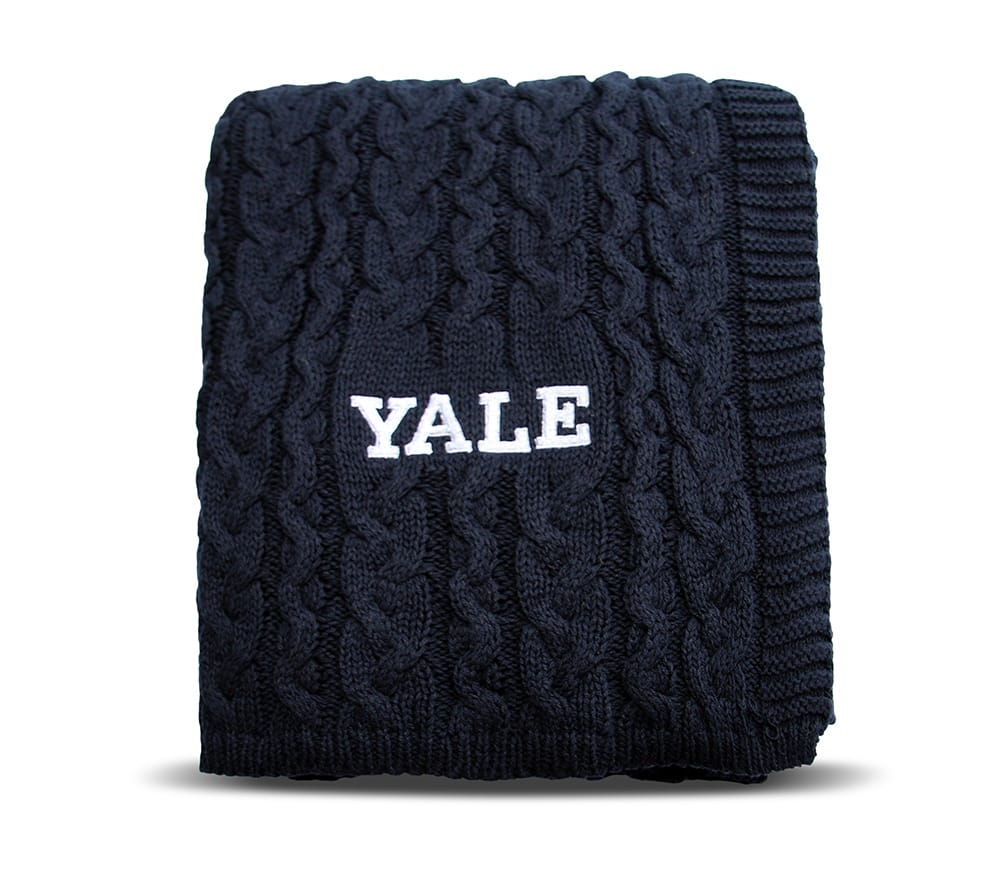 Yale Cotton Cable Blanket