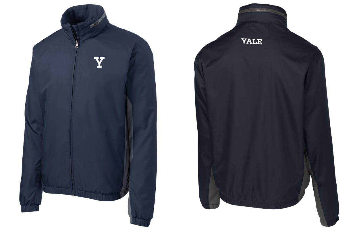 Men's Two-Tone Jacket (Navy/Gray)